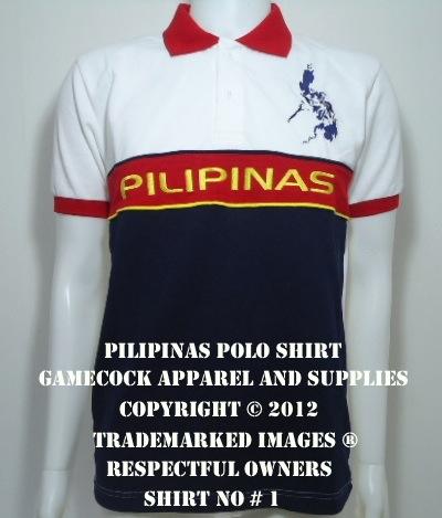 Pilipinas Polo Shirt No 1 Gamecock Apparel And Supplies