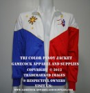 Tri Color Pinoy Jacket