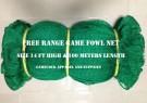 Free Range Net 14 Feet High & 100 Meter Length