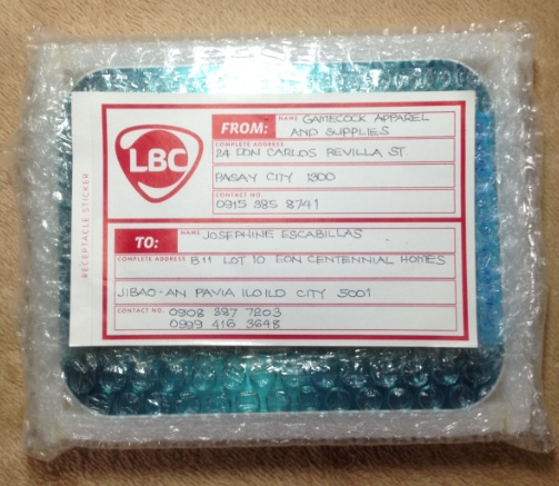Packaging LBC Tracking Number 179347863561