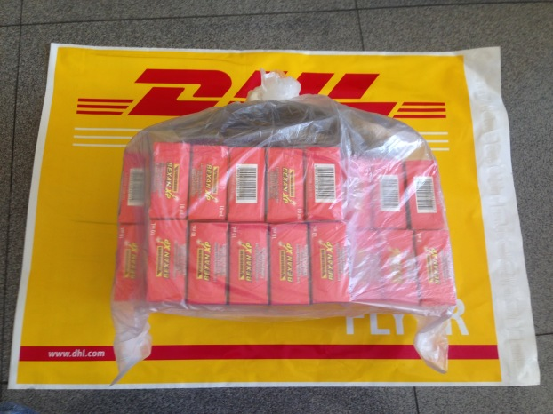 Actual Items DHL Waybill Number 5369915202