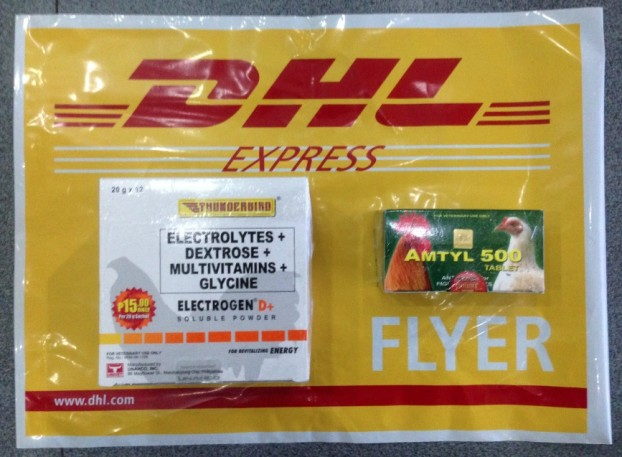 Actual Items DHL Waybill Number 3740576744