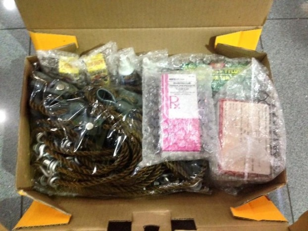Actual Packaging DHL Waybill Number 1409701241