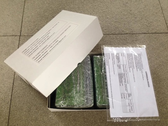 Packaging EMS - USPS Tracking Number EE060623348PH