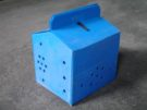 Game Cock Travelling Plastic Box | Double