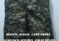 Digital Jungle Camo Short Front View