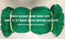 Free Range Net 12 Feet High & 100 Meter Length