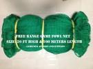 Free Range Net 20 Feet High & 100 Meters Length