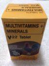 V22 Tablet Multi Vitamins + Mineral | New Packaging